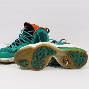 low priced e64c6 a259a Nike Shoes - NIKE AIR PENNY V 5 GREEN WHITE MIAMI DOLPHINS